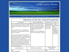 Migration of the Neo-Tropical Songbirds Lesson Plan