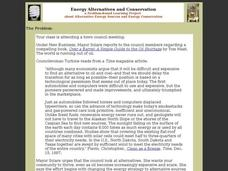 Energy Alternatives and Conservation Interactive