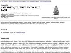 A Guided Journey Into the Past Lesson Plan