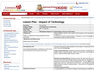 Workplace Impact of Technology in the Last 100 Years Lesson Plan