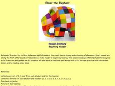 Elmer the Elephant Lesson Plan