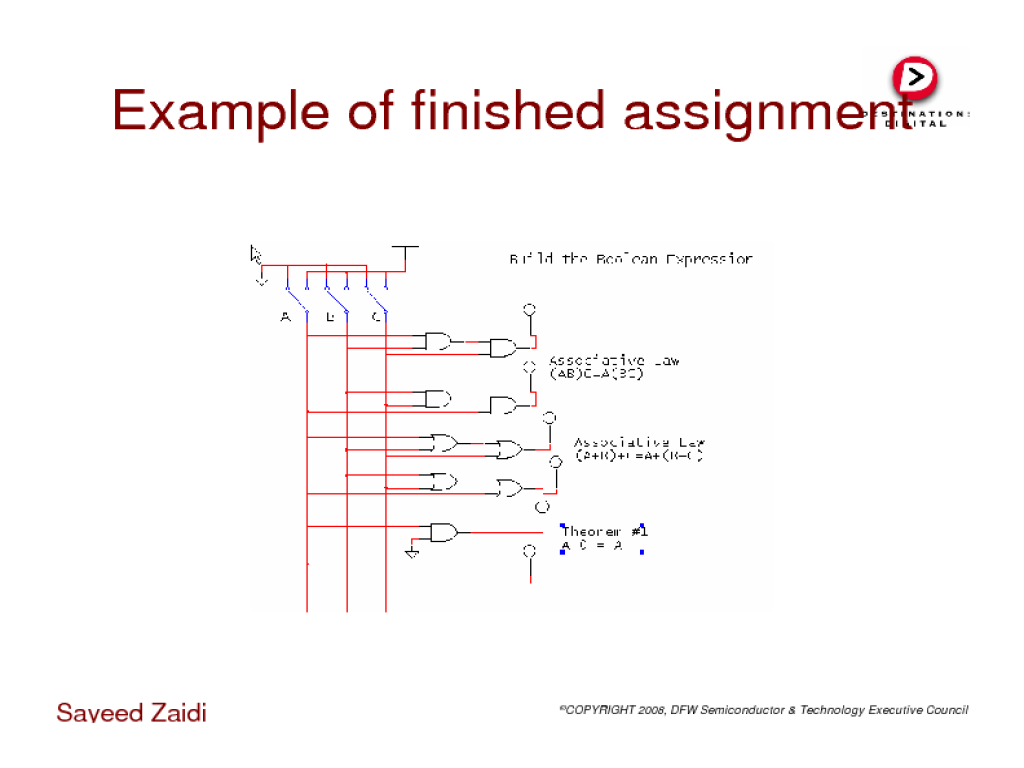 Can We Handle The Truth How Are A Table Logic Circuit And Example