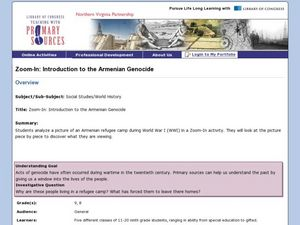 Zoom-In: Introduction to the Armenian Genocide Lesson Plan