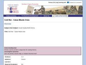 Cold War - Cuban Missile Crisis Lesson Plan