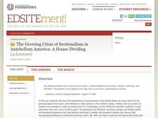 A House Dividing: The Growing Crisis of Sectionalism in Antebellum America Lesson Plan