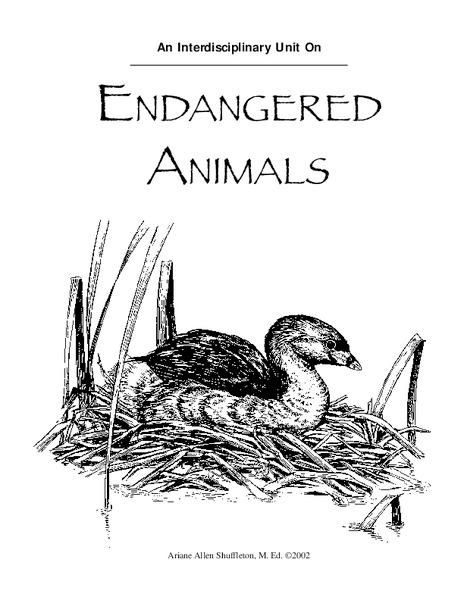 Wildlife Management and Habitat Lesson Plans & Worksheets