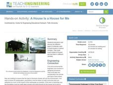 A House is a House for Me Lesson Plan