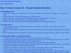 Mayan Farming Practices Lesson Plan