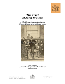 The Trial of John Brown Lesson Plan