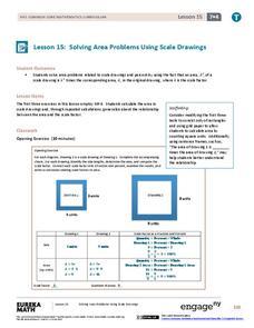 Scale Factor Enlargement Lesson Plans & Worksheets