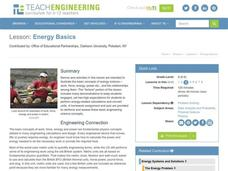 Energy Basics Lesson Plan