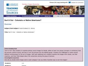 Colonists or Native Americans? Lesson Plan