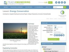 Energy Conservation Lesson Plan