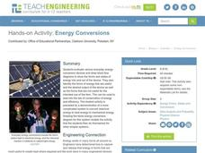 Energy Conversions Activities & Project