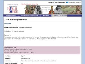 Zoom In: Making Predictions Lesson Plan