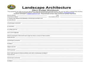 landscape architecture lesson plans worksheets reviewed by teachers. Black Bedroom Furniture Sets. Home Design Ideas