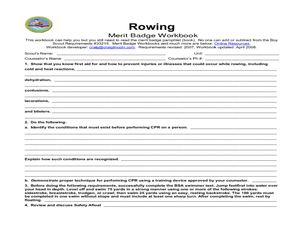 rowing merit badge worksheet for 5th 12th grade lesson planet. Black Bedroom Furniture Sets. Home Design Ideas