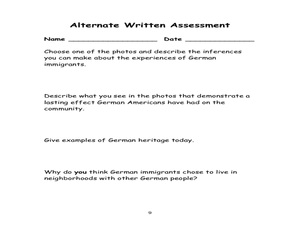 German Americans and Their Cultural Influences in Cincinnati Lesson Plan