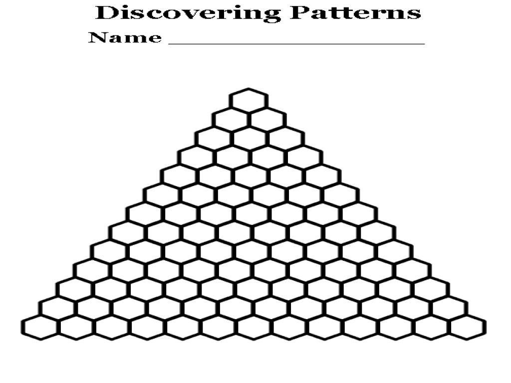 pascals triangle worksheet resultinfos. Black Bedroom Furniture Sets. Home Design Ideas
