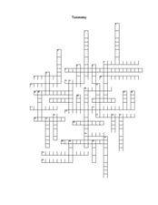 Ecosystem Crossword Puzzle Lesson Plans & Worksheets