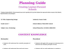 Engineering Design Lesson Plan