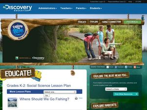 Where Should We Go Fishing? Lesson Plan