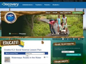 Waterways: Roads in the Water Lesson Plan