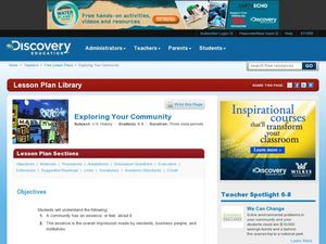 Exploring Your Community Lesson Plan