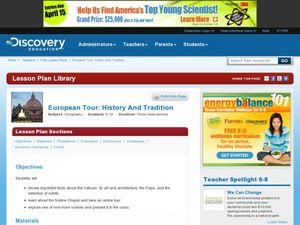 European Tour: History and Tradition Lesson Plan