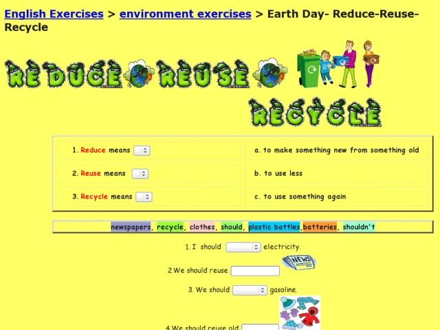 Earth Day Reduce Reuse Recycle 2nd 5th Grade Worksheet – Reduce Reuse Recycle Worksheets