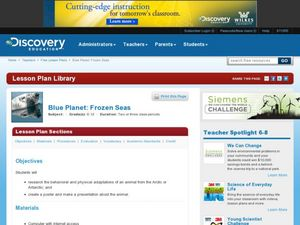 Blue Planet: Frozen Seas Lesson Plan
