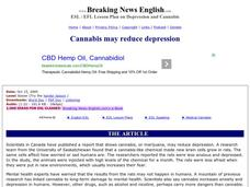 Depression and Cannabis Worksheet