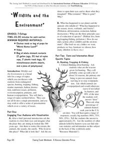 Environmental Education Worksheet