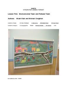 Environmental Town and Polluted Town Lesson Plan