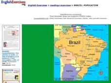 Brazil Lesson Plans & Worksheets | Lesson Planet