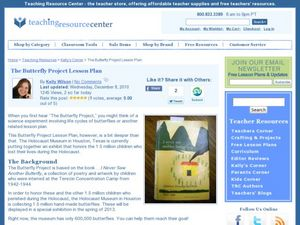 The Butterfly Project Lesson Plan Lesson Plan