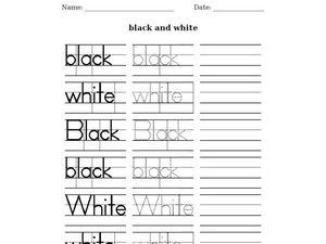 esl writing wizard black and white worksheet for 2nd 3rd grade lesson planet. Black Bedroom Furniture Sets. Home Design Ideas