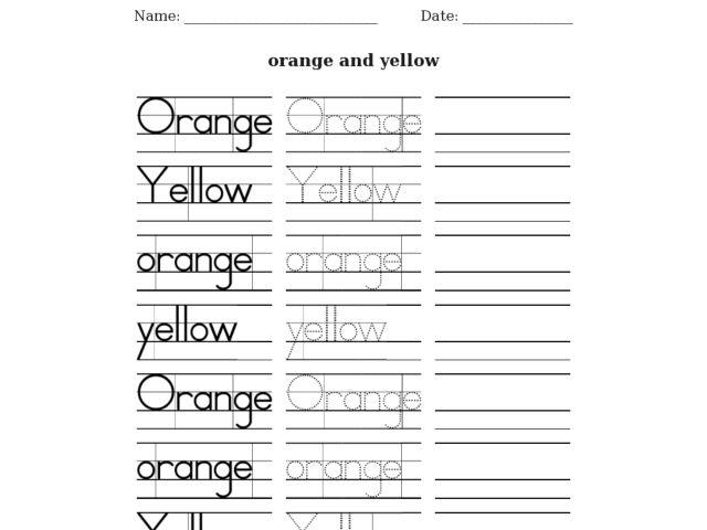 esl writing practice orange yellow worksheet for 2nd 3rd grade lesson planet. Black Bedroom Furniture Sets. Home Design Ideas