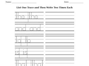 esl writing wizard trace and write worksheet for 1st 4th grade lesson planet. Black Bedroom Furniture Sets. Home Design Ideas
