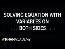 Equations 3 Video