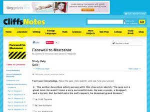 Farewell to Manzanar Essay - Part 2