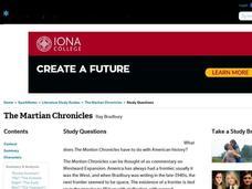 The Martian Chronicles by Ray Bradbury Essay