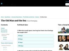 The Old Man and the Sea Quiz Interactive