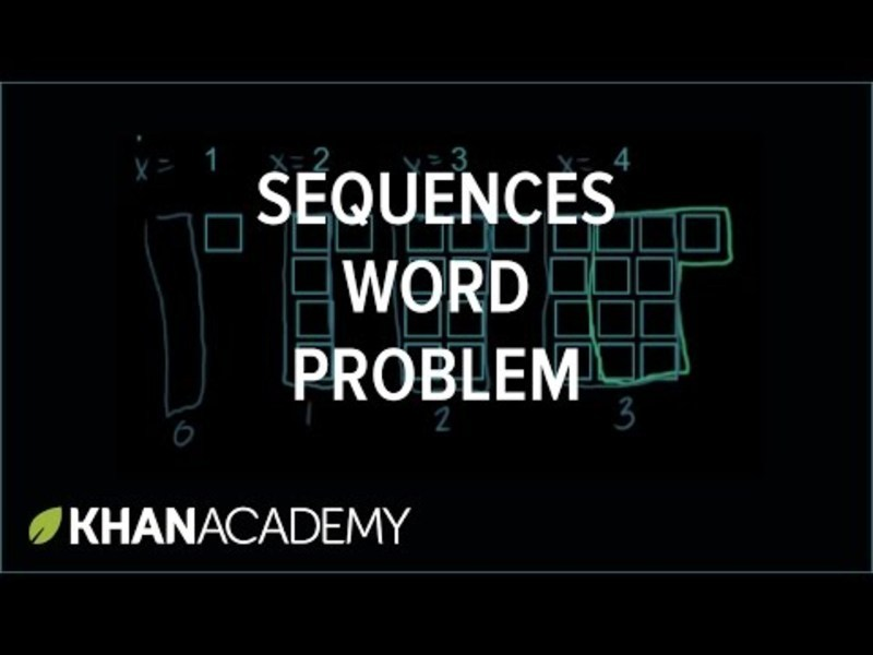 Equations of Sequence Patterns Video