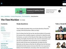 The Time Machine Study Questions Interactive