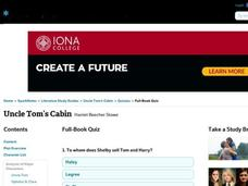 Uncle Tom's Cabin Quiz Interactive