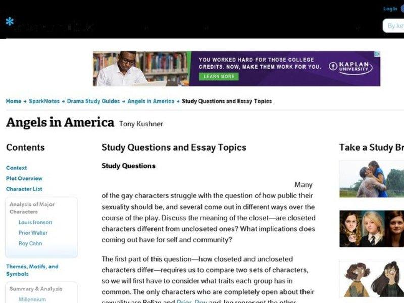 angels in america essay