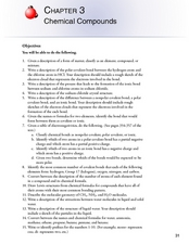 Chapter 3: Chemical Compounds Worksheet
