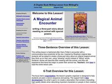 A Magical Animal Encounter Lesson Plan