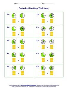 Equivalent Fractions Worksheet Worksheet